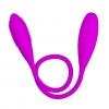 Wibrator elastyczny podwójny Snaky