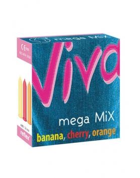 Viva Mega MIX - prezerwatywy smakowe