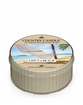 Country Candle daylight Life's a Beach