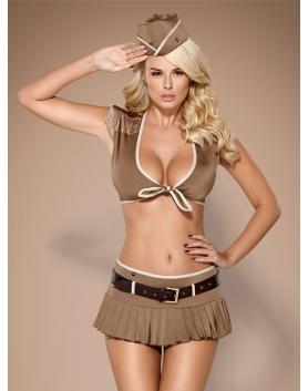 Obsessive 814-CST-4 żołnierka kostium