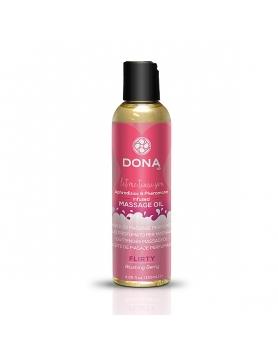 Dona - olejek do masażu z feromonami Blushing Berry