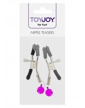 Toy Joy - zaciski na sutki z dzwoneczkami
