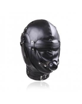 Maska wygłuszająca z eko skóry