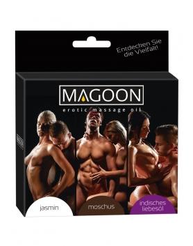 Magoon - zestaw 3 olejków do masażu