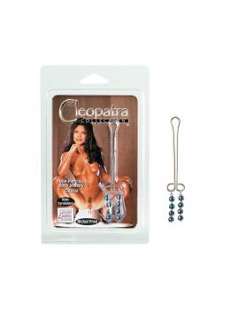 Cleopatra - klips na łechtaczkę z kuleczkami