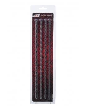 Toyfa - zestaw 4 długich dilatorów