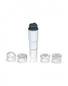 Pocket Rocket - wibrator masujący biały
