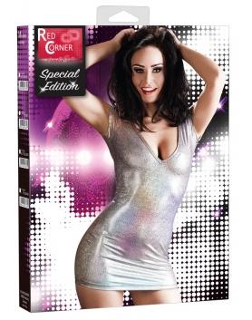 Cottelli Collection Sukienka holograficzna L