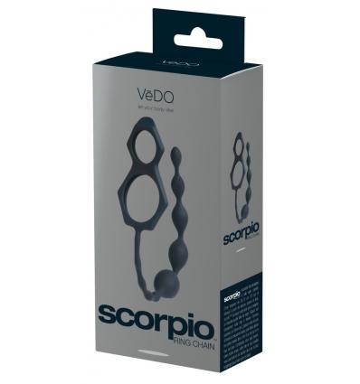 Scorpio kulki analne z pierścieniem na jądra