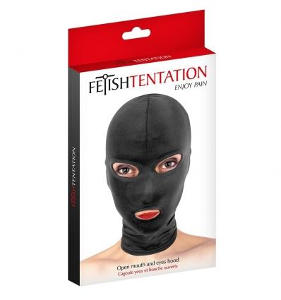 Fetish Tentation Maska z otworem na usta i oczy
