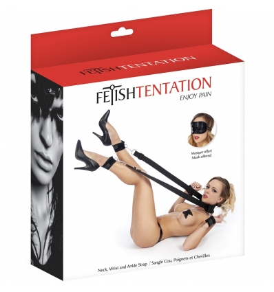 Fetish Tentation uprząż typu nogi w górę
