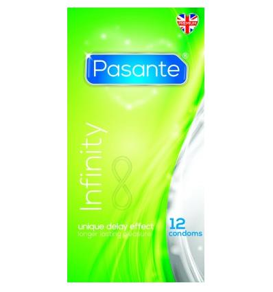 Pasante Infinity prezerwatywy opóźniające z lidokainą 12szt