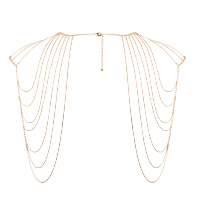 Bijoux Indiscrets Magnifique Shoulder Body Chain złoty