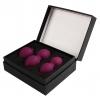 SVAKOM Nova zestaw 3 kulek gejszy fioletowe