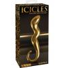 Icicles Gold Edition szklane dildo 17,7 x 3,2 cm