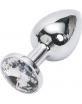 Korek analny z kryształem M