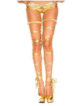 Leg straps Gold