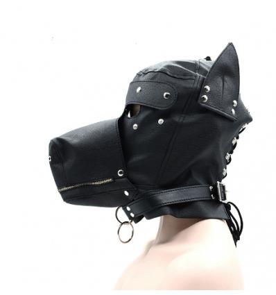 Maska psa - odpinane elementy