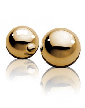 FF - złote kulki gejszy bez sznureczka