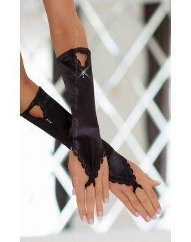 Czarne rękawiczki 7710