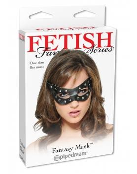 Skóra naturalna - maska z nitami