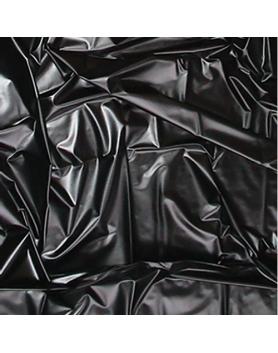 Prześcieradło vinylowe 180 x 200 black