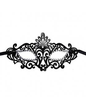 Sztywna ażurowa maska MX2 black