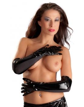Winylowe rękawiczki S